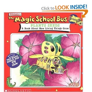 "book cover of ""Magic School bus Plants Seeds"""