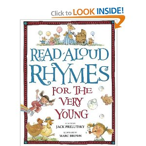 "book cover for ""Read Aloud Rhymes for the Very Young"""